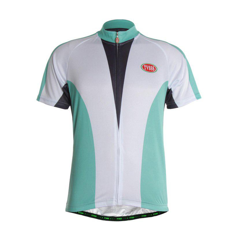 Buy TVSSS Men Summer Short-Sleeved Simple Bike Jersey T-Shirt