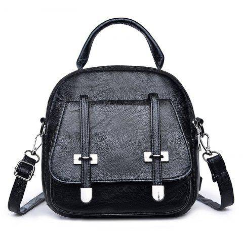 Discount College Wind Mini Backpack New Personality Girls Soft Leather Travel Bag
