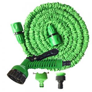 Flexible Garden for Car Hose Pipe Plastic to Watering with Spray Gun -