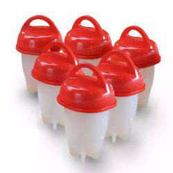 Non-stick Slica Gel Egg Cup Cooking Eggs Cooker -