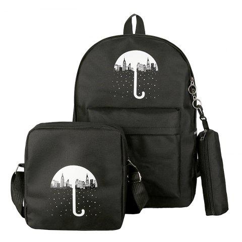Latest 3Pcs Cartoon Design Student Bag