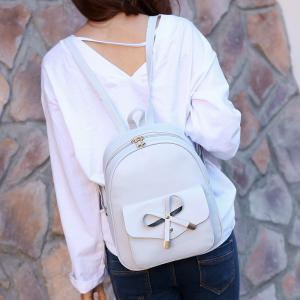 Girl / Women PU 4Pcs Backpack -