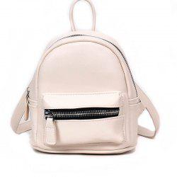 Simple and Simple Color Travel Backpack -