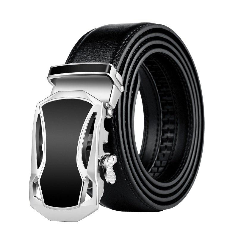 Trendy ZHAXIN 345 Car-shaped Metal Clasp Automatic Belt for Man