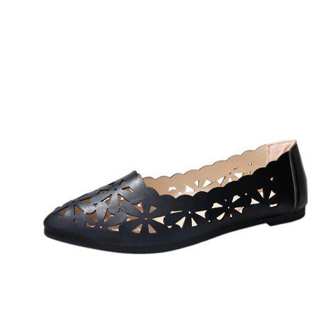Outfits Hollow Out Flat  Pointed Head Shallow  Shoes