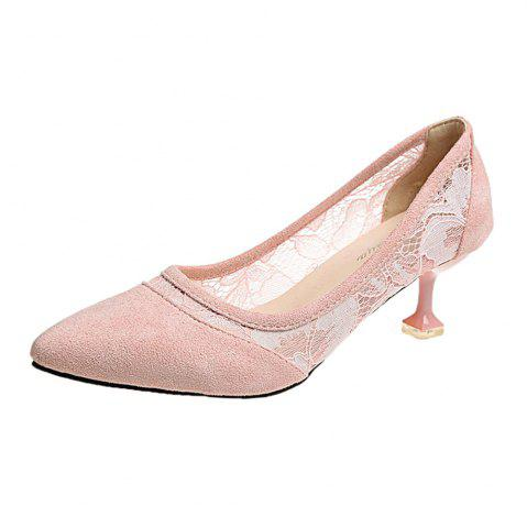 Store Lace  Gauze Shallow  Point  Women's Shoes