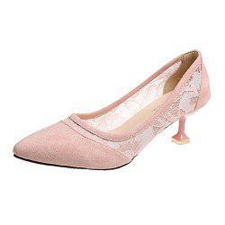 Lace  Gauze Shallow  Point  Women's Shoes -