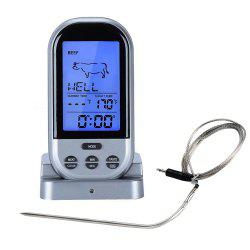 Wireless Remote BBQ Meat Thermometer -