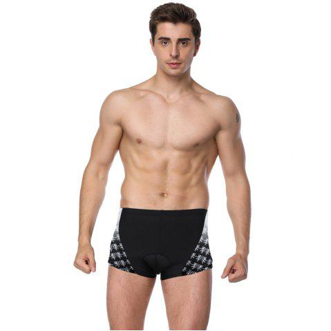 Fashion Twotwowin KK19 Men's Cycling Underwear with 3D CoolMax Pad