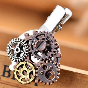 2018 Hair Accessories Hair Clips Steampunk Gears Exaggerated Personality Duckbil -