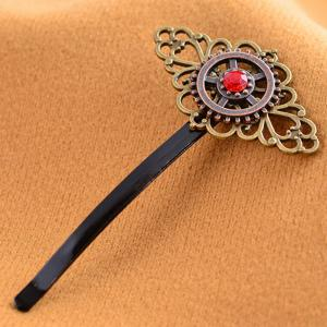 European and American Foreign Trade Creative Jewelry Steampunk Vintage Word Clip -