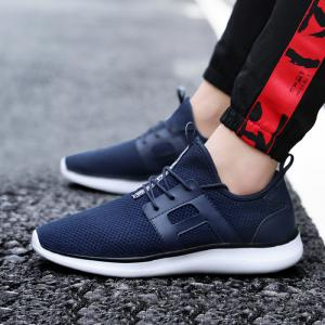 Breathable Casual Fly-Woven Sports Men Shoes -