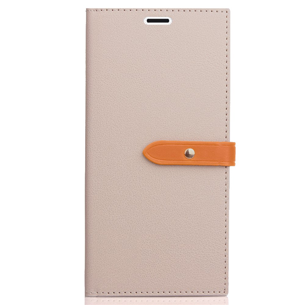 Unique Velcro Business Card Lanyard Pu Leather for HUAWEI Honor 6A