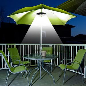 YWXLight Patio Umbrella Light Cordless 28 LED Lights Pole Light for Camping -