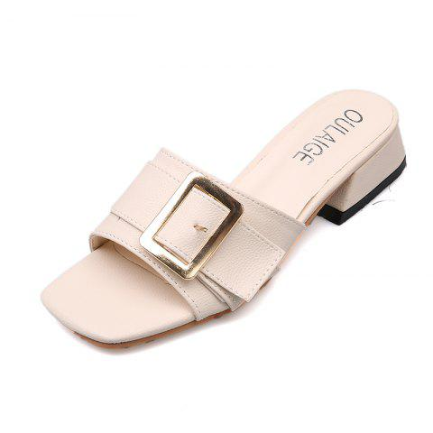 Buy Thick Belt Buckle and Slippers