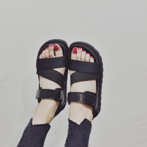 Rome All-match Velcro Soled Sandals -