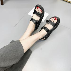 outlet new Thick Bottom All-match Metal Decorative Rome Platform Sandals clearance exclusive outlet with paypal order online Ujyb2