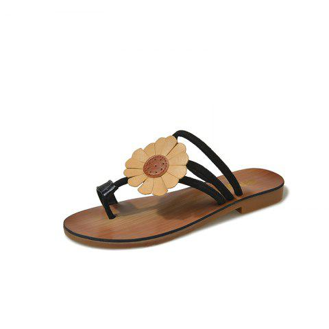 Buy Flat Bottom Flower Toes and Sandals