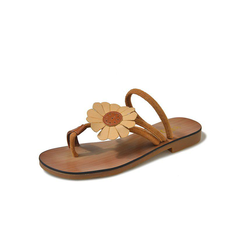 Best Flat Bottom Flower Toes and Sandals