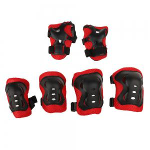 7 Pieces Kids Roller Skating Cycling Helmet Knee Elbow Pad Wrist Guard Gear Sets -