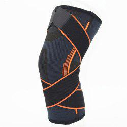 Sports Outdoor Twining Breathable and Anti Skid Nylon Knee Pad -