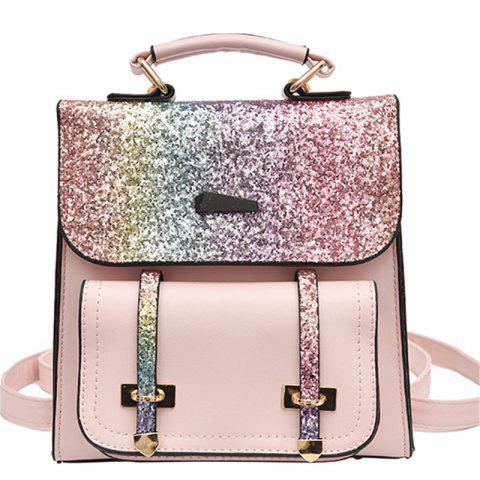 Best Female Backpack Fashion Sequins Shoulder Messenger Student Bag