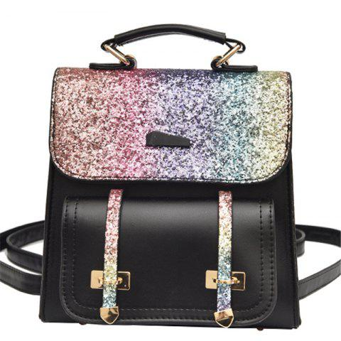 Fancy Female Backpack Fashion Sequins Shoulder Messenger Student Bag