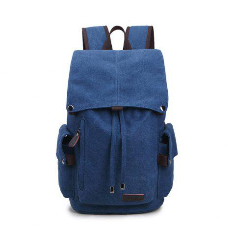 Store Casual Canvas Backpack High School Student Shoulder Bag