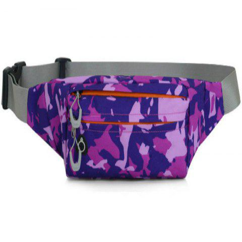 Trendy Camouflage Breath Waist Bag for Outdoor Sports Mountaineering Running