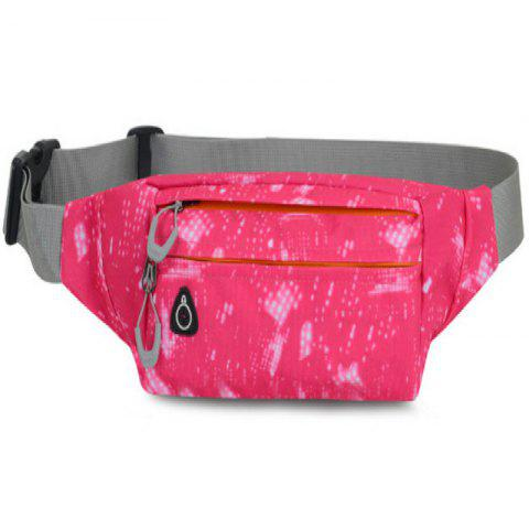 Online Camouflage Breath Waist Bag for Outdoor Sports Mountaineering Running