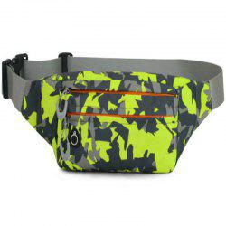 Camouflage Breath Waist Bag for Outdoor Sports Mountaineering Running -