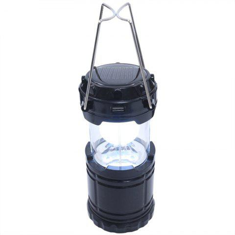 Outfit Outdoor LED Solar Power Collapsible Portable Rechargeable Hand Lamp Camping