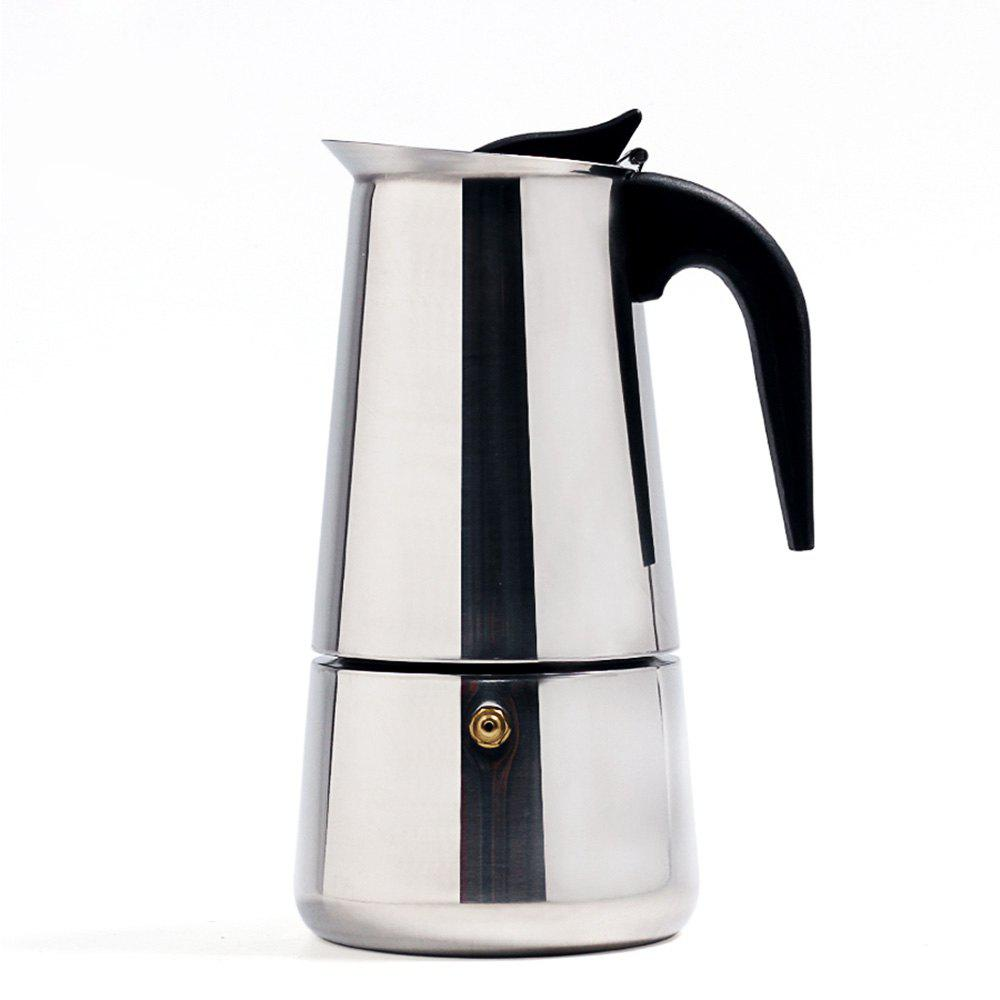 Affordable 200ML Stainless Steel Coffee Pot Teapot Mocha Stovetop Tool