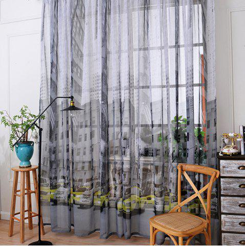 Outfit Bedroom Balcony Car Cotton Linen Curtain