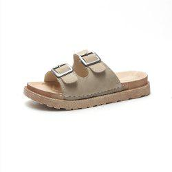 Flat Top  Style Anti Skid Beach Shoes -