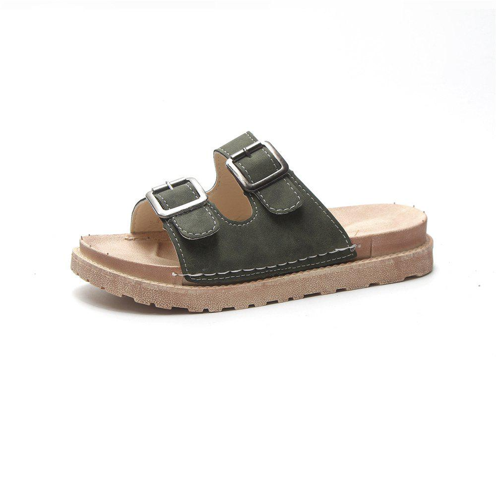 Outfit Flat Top  Style Anti Skid Beach Shoes