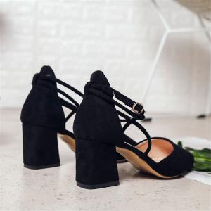 High Fashion Lap Baotou  Pointed End  Women's Shoes -