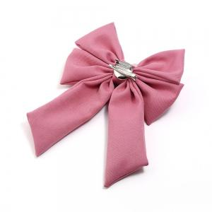 New Trendy Bow Crystal Ribbon Pins Brooches Tie -