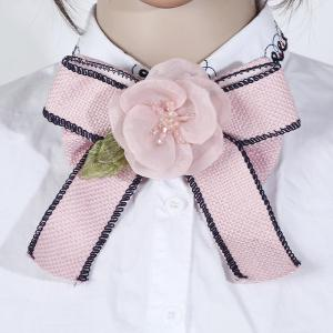 Classic Handmade Vintage Brooches Tie -
