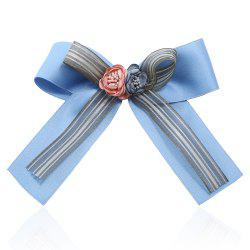 Bow Ribbon Brooch for Women Pins Large Rhinestone Tie -