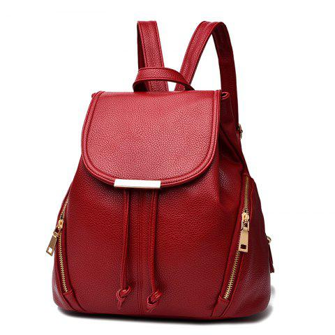 Buy New Trend PU Leather Backpack for Women