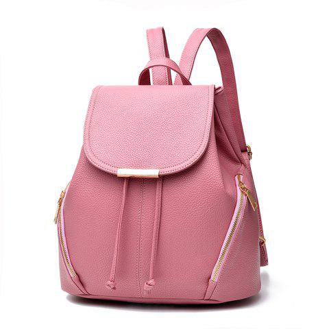 Shop New Trend PU Leather Backpack for Women