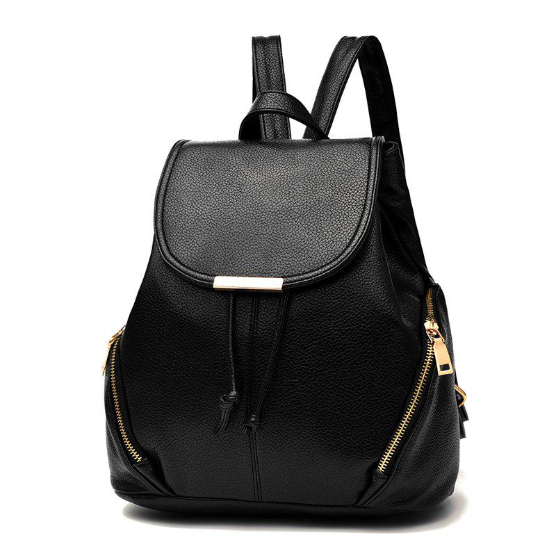 Online New Trend PU Leather Backpack for Women