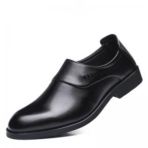 ZEACAVA Men Microfiber Leather Slip On Business Повседневная обувь -