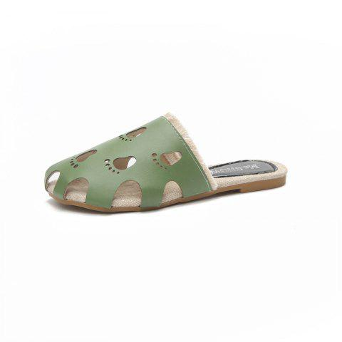 Buy Fashionable Baotou Hollow Slippers