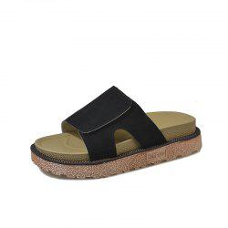 Thick Non Slip Bottom Toe Slippers -