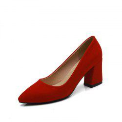 Commuter Pointed High Heeled Leisure Women Shoes -