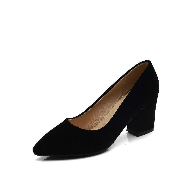 Discount Commuter Pointed High Heeled Leisure Women Shoes