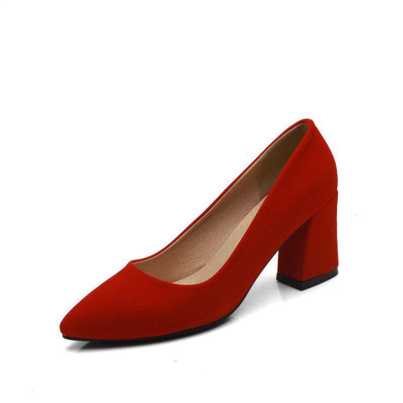 Affordable Commuter Pointed High Heeled Leisure Women Shoes