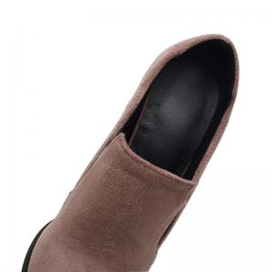 Slack and High Heeled Leisure Professional Women Shoes -
